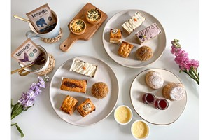 Afternoon Tea for Two at Home with Piglet's Pantry
