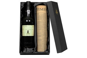 10 Year Old Tawny Port And Newspaper In A Luxury Gift Box
