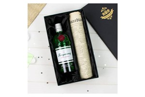 Buy Tanqueray Gin and Original Newspaper
