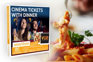 Cinema Tickets with Dinner - Smartbox by Buyagift