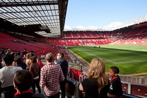 Manchester United Old Trafford Stadium Legends Tour With Lunch