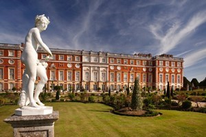 Family Entry To Hampton Court Palace