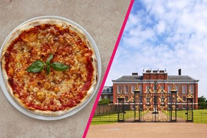 Buy Kensington Palace Entry with Three Courses and Bottle of Wine at Prezzo for Two