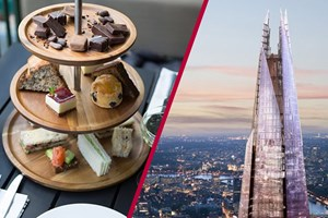 The View From The Shard And Sparkling Afternoon Tea At Hotel Chocolat For Two