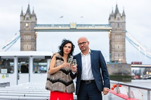 Thames Showboat Dining Cruise For Two