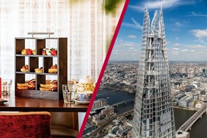 The View From The Shard And Afternoon Tea At Marco Pierre Whites New York Italian