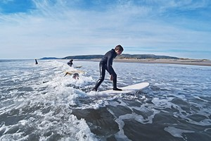 Surf Experience For Intermediates At Aber Adventures For One