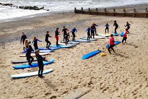 Surf Experience For Beginners At Aber Adventures For One