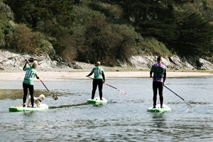 Surf Or Stand Up Paddle Boarding For One At Big Green Surf School