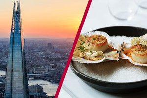 Buy The View From The Shard with Lunch for Two at Gordon Ramsay's Savoy Grill