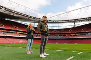 Arsenal Emirates Stadium Tour For Two Adults, Includes Branded Earphones