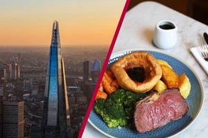 Buy The View from The Shard and Sunday Roast for Two at a Gordon Ramsay Restaurant