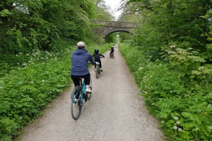 One Day Bike Hire For Two Adults And Two Kids In Derbyshire At The Bike Barn