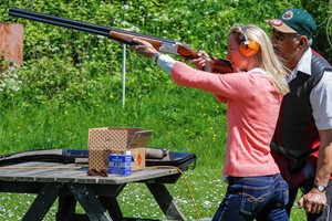 Clay Shooting With 40 Clays Each For Two At Lea Valley Shooting Association
