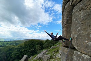 Outdoor Rock Climbing Taster Day For One