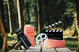 General Admission For Four At The Outdoor Picture Palace