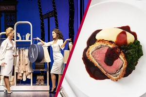 Buy Theatre Tickets and Three Course Lunch at Gordon Ramsay's Savoy Grill for Two