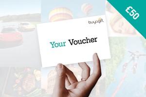 £50 Buyagift Money Voucher
