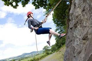 Climbing and Abseiling Package in Gwynedd