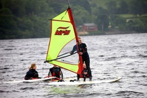 Introduction to Windsurfing for Two in Gwynedd (Half Day)