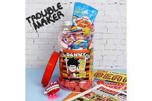 Personalised Beano Retro Sweet Jar
