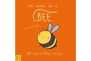 Personalised I'd Rather Be A Bee Storybook