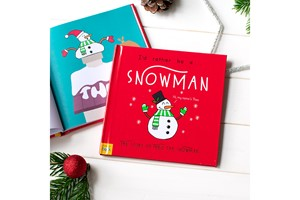 Personalised I'd Rather Be A Snowman Storybook