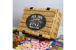 All You Need Is Love Personalised Sweet Hamper