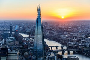 The View From The Shard For Two Adults And One Child