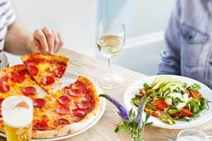 Buy Three Course Meal with Glass of Wine for Two at Prezzo