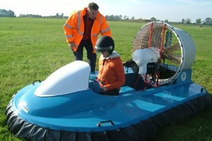 One To One Hovercraft Flying