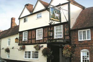 One Night Break with Dinner at The White Hart Hotel