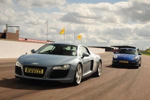 Porsche Vs Audi R8 Driving Experience At Thruxton